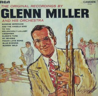 Glenn Miller & His Orchestra(Vinyl LP)The Original Recordings UK CDS