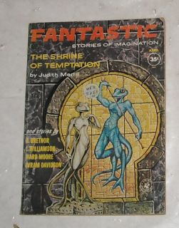 FANTASTIC SCIENCE FICTION FANTASY PULP DIGEST MAGAZINE GEORGE BARR