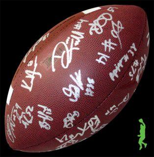 2012 Stanford Cardinal Team Signed Auto Wilson Football Ball 34 Autos