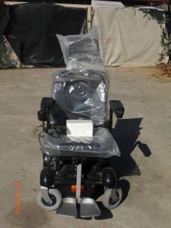 Graham Fields Everest CTR1000 Power Wheelchair W Captains Chair Never