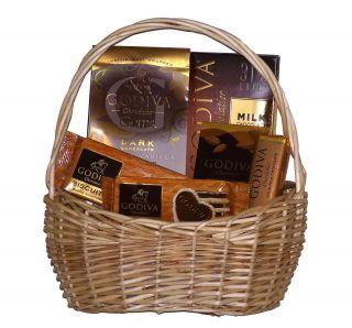 Chocolate Lovers Sampler Gourmet Holiday Christmas Gift Basket