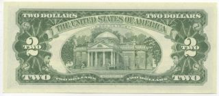 1963 $2 United States Note Red Seal STAR NOTE FR# 1513 Uncirculated