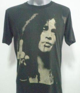 Slash Given Finger Guns N Roses Rock T Shirt Black Size Medium