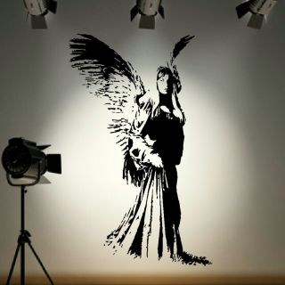 Kitchen Angel Wall Sticker Fairy Dust Huge Decal RA200