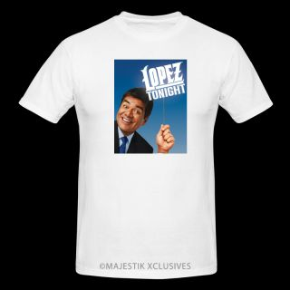 George Lopez Tonight T Shirt Funny Humor Comedian Tonight DVD Show Los