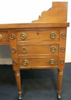 George Washington Partners Desk Mahogany Imperial Furniture Company