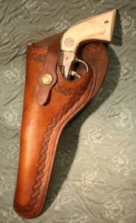 Vintage Maker Marked George Lawrence Left Handed Holster for Colt