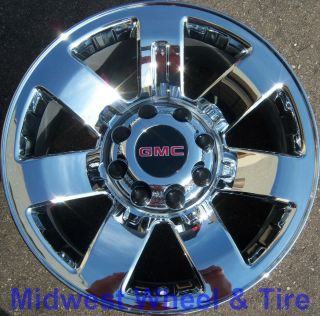 20 GMC Sierra 2500 3500 Chrome Wheels Rims