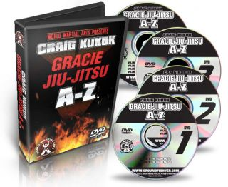 Gracie Jiu Jitsu from A Z with Craig Kukuk Digitally Remastered