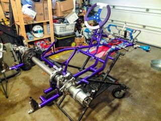2012 Energy Kinetic Racing Go Kart Chassis