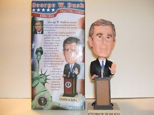 George w Bush Commemorative Hand Painted Bobblehead