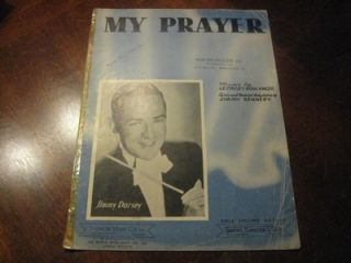 My Prayer 1939 Jimmy Dorsey Georges Boulanger JImmy Kennedy 4019