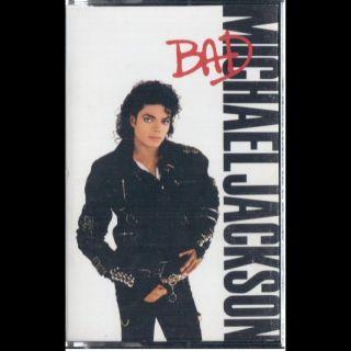 Michael Jackson Bad Cassette VG Canada Epic OET 40600