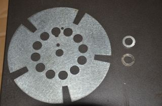 Bell Howell 16mm Projector 5 Blade Shutter Part to Convert to Telecine