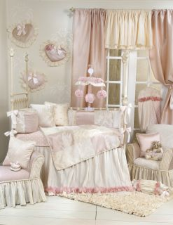Victoria 8 Piece Crib Bedding Set by Glenna Jean