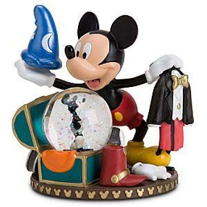Disney Snow Globe Mickey Mouse Wardrobe Costume Chest