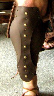 Medieval Armor Barbarian Gladiator Leg Greaves