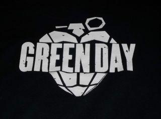 Green Day Vintage Heart Grenade Shirt Look Billie Joe Punk