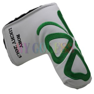 Golf Putter Cover HeadCover Quatrfoil Lucky 2013 Fit Scotty Cameron