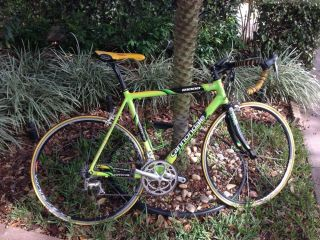 Cannondale R1000 Sobe Green Road Bike RARE