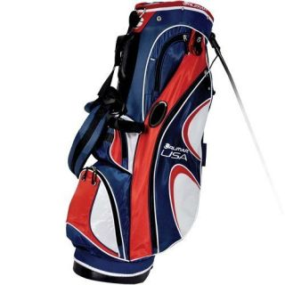 Orlimar SDX USA Logo Golf Stand Bag Red White Blue