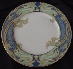 Fitz Floyd Green Dolphin Street Salad Plates 112