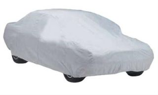 Summit Car and Truck Cover Gray 13 1 to 14 1 Zippered Access
