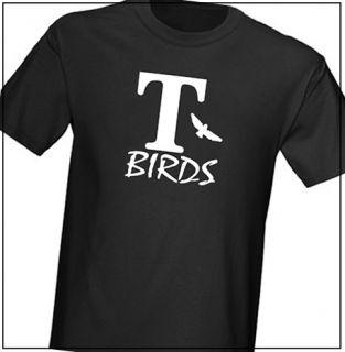 Birds Grease T Shirt Fancy Dress
