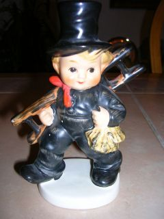 Goebel w Germany West Germany Boy Ladde Figure Figurine