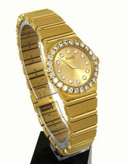 Stunning Piaget 18K Gold Diamonds Ladies Wrist Watch