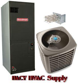 Goodman 3 Ton 13 SEER Heat Pump System R 410A VSZ130361 ARUF36C14