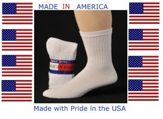 Men Extra Large King Size White Cotton Crew Sock 13 15