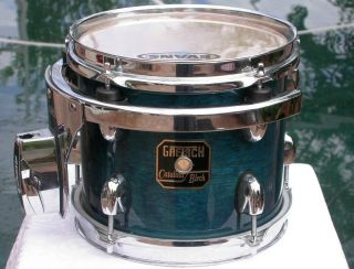 Gretsch 8 Catalina Birch Rack Tom in Caribbean Blue for Drum Set Lot