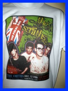 The Smiths Morrissey Final Gig Poster T Shirt 80s New