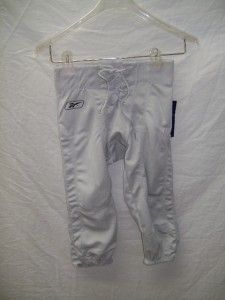 Reebok Youth s Football Game Day Practice Pants Blue Grey Slotted NWT