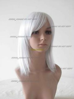 Cosplay Wig Kingdom Hearts II Riku Silver Grey Costume