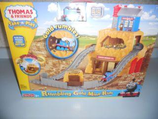 Thomas Friends Take N Play Rumbling Gold Mine Run
