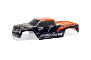 HPI Savage XL Orange GT Gigante Painted Truck Body