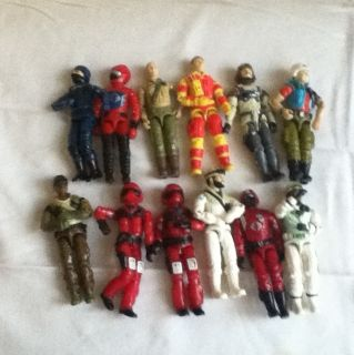 Gi Joe Action Figures 1983 1986 Lot of 12