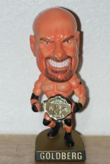 WCW Goldberg Head Ringers 1999 Toy Biz Marvel
