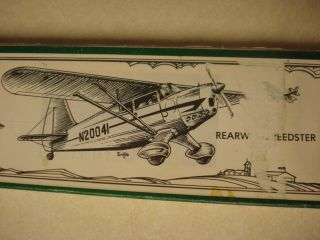 Golden Age Reproduction Rearwin Speedster Free Flight Model Airplane