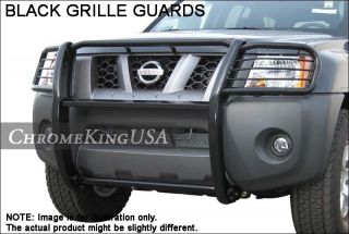 Dodge RAM 1500 Black 1 PC Grille Guards Push Brush Nudge Bars