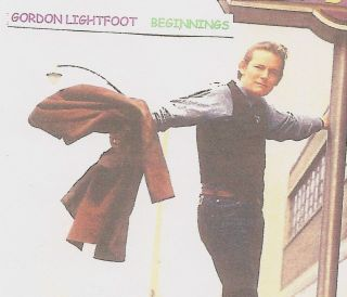 Gordon Lightfoot Beginnings RAREST Earliest Two Tones Chateau UA Ame