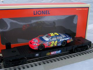 Lionel Train NASCAR Jeff Gordon Flatcar w Stock Car 26348 New O B 2006