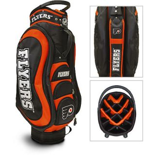 Team Golf NHL Philadelphia Flyers Medalist Golf Cart Bag + Free Bonus