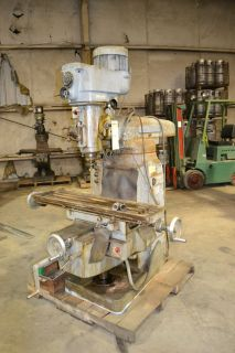 Gorton Vertical 10 x 42 Model 1 22 Milling Machine