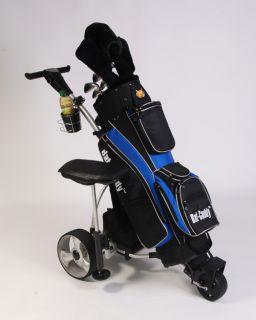 Electric Motorized Manual Remote Control Golf Bag Cart Trolley