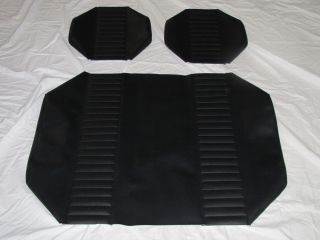 Yamaha Golf Cart Seat Covers Black Black
