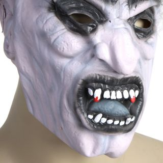 Creepy Scary Gross Mens Zombie Corpse Mask for Halloween Masquerade