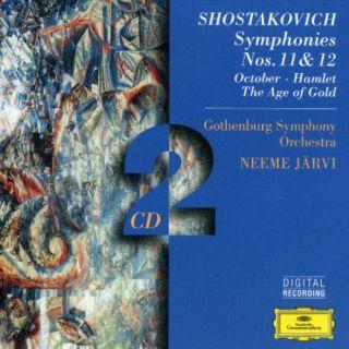 Jarvi Gothenburg Symphony Orchestra Shostakovich Sym 11 Hamlet Suite